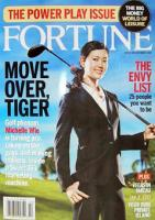 Michelle Wie on the Fortune magazine cover