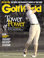 Michelle Wie on the Golf World cover