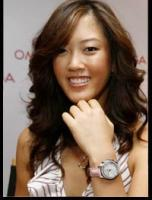 Michelle Wie promotioning watches