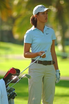 Image of Michelle Wie in Hawaii