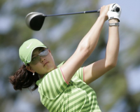 Michelle Wie of the U.S. drives off the third tee during SBS Open golf tournament in Kahuku, Hawaii 2009.PNG
