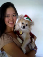 Michelle Wie dog pictures.PNG