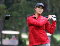 Michelle Wie at the LPGA Championship 2011_Michelle Wie in red.PNG
